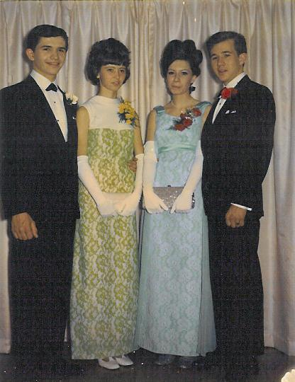 Graduation - Bill Leech, Trudy Eikelboom, Judy Hutchins & Ron Leech